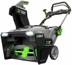 Ego Snt2103 21 Cordless Single Stage Snow Blower W/ 2 7.5ah Batteries And Char