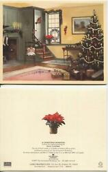 Vintage Christmas Fruit Cake Recipe 1 Old Fashioned Tree Doll Hearth Teapot Card