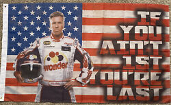 Ricky Bobby Talladega Nights 3x5ft Flag Banner College Dorm If You Ain't First