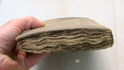 Historic First Description Of The United States Antique Book / Revolutionary War
