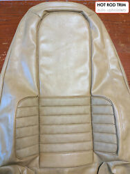 Valiant Vh Charger 770 T1 Tan Vinyl Front And Rear Seat Skins Trim Kit Full Set