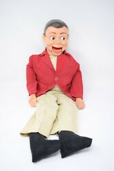 Jerry Mahoney Ventriloquist Dummy Puppet Figure Doll From Paul Winchell 1950-60s