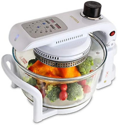 Convection Oven, Glass Bowl Container, Air Fryer Toast Oven Oil Free Xl Electric