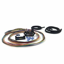 Wire Harness Fuse Block Upgrade Kit For 67-79 Ford Truck Stranded Insulation Car