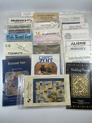 Collection Of 18 Quilting And Sewing Pattern Books Lot Of 18 Sewing Pattern Books