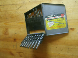 Vintage Century High Tungsten Drill Bits Republic Drill And Tool Co. Chicago