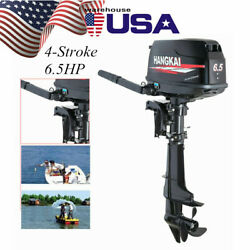 4 Stroke 6.5hp Outboard Motor Fishing Boat Engine Water-cooling Cdi Short Shaft