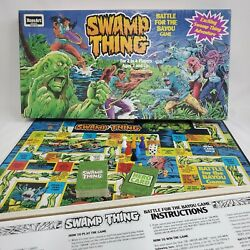 1991 Rose Art Swamp Thing Battle For The Bayou Game Complete Made In Usa