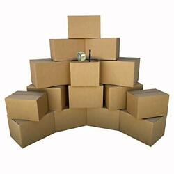 Uboxes 1 Room Economy Moving Kit 15 Boxes Moving And Packing Supplies Ecobasi...