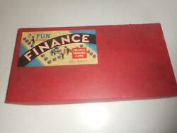 1936 Finance Board Game Parker Brothers Landlord Monopoly Real Estate Money Bank