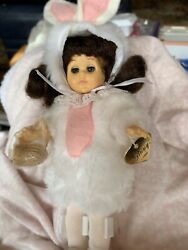 1986 Easter Bunny Ginny Doll With Basket
