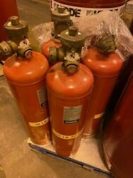 Ansul Spa-50 50 Lbs Dry Chemical Fire Suppression Tanks Charged