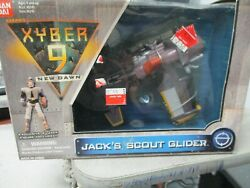Ban Dai Saban Xyber 9 New Dawn Jackand039s Scout Glider Old Store Stock