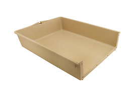 Primeline Products 20-1/2 X 18-1/2 X 4 In. Plastic Drawer Insert 6-pack