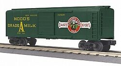 Mth 30-74863 O Hood's Dairy Rounded Roof Boxcar Nib