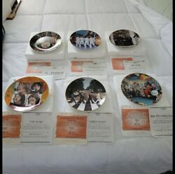 1993 Apple Corps Limited Edition 6 Plate The Beatles Collection Numbered Delphi