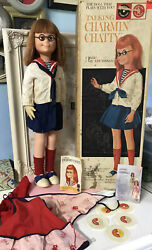 Vintage 1961 Mattel Charmin Chatty Doll Everything Original To This Doll