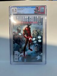 Ultimate Fallout 4 - Cgc 9.2 - First App Of Miles Morales - Custom Label