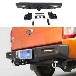 Combat Black Rear Tailgate Trunk Lid Cover Guard Plate For Ford Ranger 2015-2021