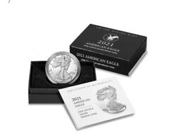American Eagle 2021 One Ounce Silver Proof Coins 1 Qty