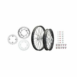Tusk Impact Complete Front/rear Wheel Package 1.60 X 21 / 2.15 X 19 Black