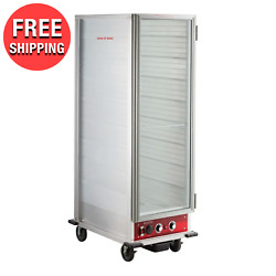 Full-size Electric Non-insulated Heated Holding Proofing Cabinet W/ Clear Door