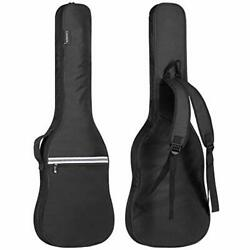 Electric Guitar Bag Gig Bag 6mm Padding Padded Backpack With Reflective Bands