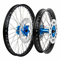 Tusk Impact Complete Front/rear Wheel Package 1.60 X 21 / 2.15 X 18 Black