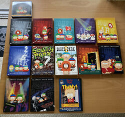 Lot South Park Seasons 1-12 And Timmy Dvd Collection Complete Excellent Condition