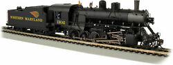 Bachmann Spectrum Western Maryland 2-10-0 Russian Decapod 1102 W/ Sound And Dcc