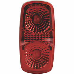 Blazer Led 4in Oblong Multi-faceted Clearance And Side Marker- Red Model Cw1544r