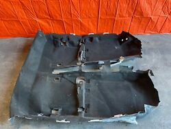 02-06 Acura Rsx Type-s And Base - Factory Carpet - Black In Color Rug Mat Oem Oe