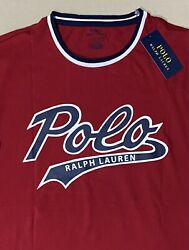 Polo Menandrsquos Classic Fit Polo Bears 67 Ringer T-shirt Red Size M