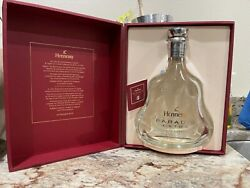 Hennessy Paradis Extra Empty Bottle Rare Cognac Crystal Decanter With Box 700ml
