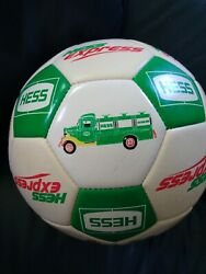 Hess Express Soccer Ball ⚽size 5 Vintage With Fire Trucks Official Size