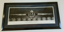 2012 Anthony Davis Game Exclusive Special Edition Poster Print Hyper Rare Euc