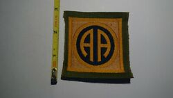 Extremely Rare Wwi 82nd Division Liberty Loan Patch. Rare Original