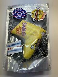 Swag Golf Vienna Beef Chicago Hot Dog Blade Putter Cover New In Hand Sold Out