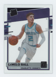2020-21 Clearly Donruss Lamelo Ball Rookie Rc Purple Parallel Short Print