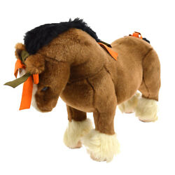 Rare Authentic Hermes Hermy Baby Horse Plush Doll Brown Toy Italy V20653