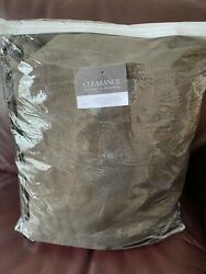 Restoration Hardware Belgian Track Arm Chair Slipcover Classic Linen Charcoal