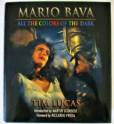ALL THE COLORS OF THE DARK MARIO BAVA SIGNED BY THE AUTHOR BEAUTIFUL COPY