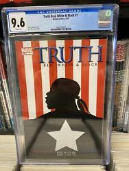 Truth: Red White amp; Black #1 CGC 9.6 WHITE Pages