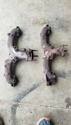 1966-1971 Corvette Exhaust Manifold A.i.r. Smog Rh 3872778 Lh 3872765 And Bolts