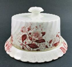 Cheese Keeper - Antique Round Covered Dish - Imperial / Wessel C.1893