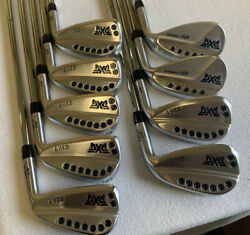 Brand New Pxg 0311t Gen2 Iron Set 4-pw And 52 And 58 W/ Elevate Tour 3299 Wow