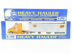 O Scale K-line Die-cast Nyc New York Central Heavy Hauler Tractor Truck Sealed