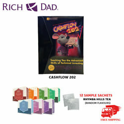Brand New Cashflow 202 Board Game Rich Dad Investing Finance Game Free Shipping
