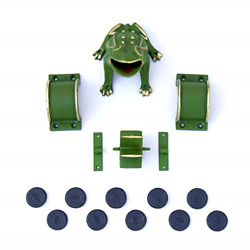 Cadenas - Frog Game / Sapo Game/ Toad In The Hole Game �complete� Cast Iron 1 /