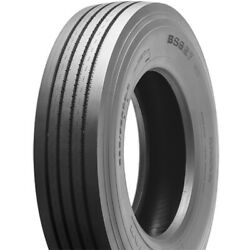 4 Tires Milestar Bs627 285/75r24.5 Load G 14 Ply Steer Commercial
